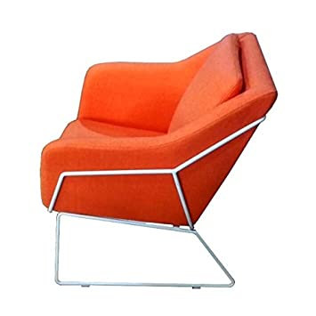 Mathi Design Sessel Narvik Orange Amazon De Kuche Haushalt