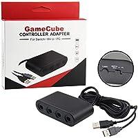 Adaptador de Controles de Gamecube para Nintendo Switch, Wii U y PC
