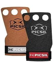 PICSIL Raven handgrepen met 2 en 3 gaten voor training op de weg, synthetische handgrepen, dikte 1 mm, voel de stang naaien, ideaal voor technici.