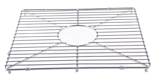 kitchen sink grid for AB3918DB, AB3918ARCH, Stainless Steel (Fireclay Sink Drainer)