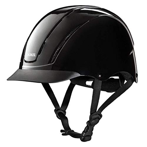 Troxel Spirit Black #1 Selling Schooling Riding Safety Helmet SEI Certification (Small)
