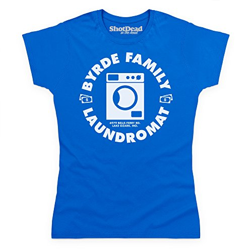 Inspired By Ozark - Laundromat Camiseta, Para mujer Azul real
