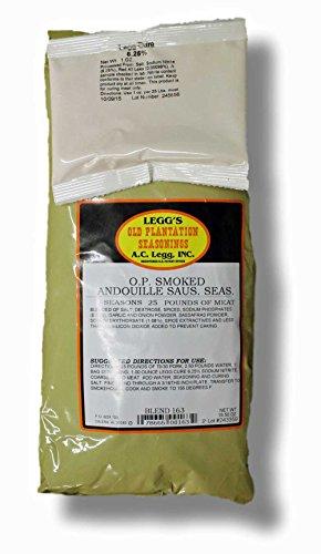 Leggs Old Plantation O.P.Smoked Andouille Sausage Seasoning ()