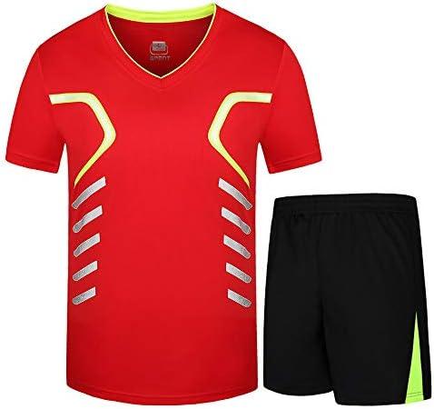 レディースジャージ上下セット ワークアウトスポーツジョギングスーツスポーツウェアメンズランニングセットジム服弾性圧縮タイツフィットネス 吸汗 速乾 (Color : Red, Size : 8XL)