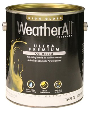 True Value XHGN-GL Premium WeatherAll Neutral Base Exterior Gloss Oil Based House Paint, 1-Gallon