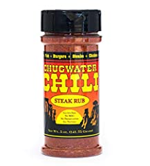 The bold flavor of our Chugwater Chili Steak Rub enhances every bite of grilled steak, poultry, pork, or game steak. Add it to your choice of liquid for a marinade as well. Mix it in batter for fish, hush puppies, or fried pickles. Sprinkle i...