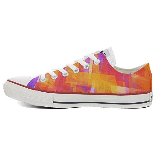 Coutume Chaussures abstract Slim produit Customized Artisanal Adulte Converse zIgxPc