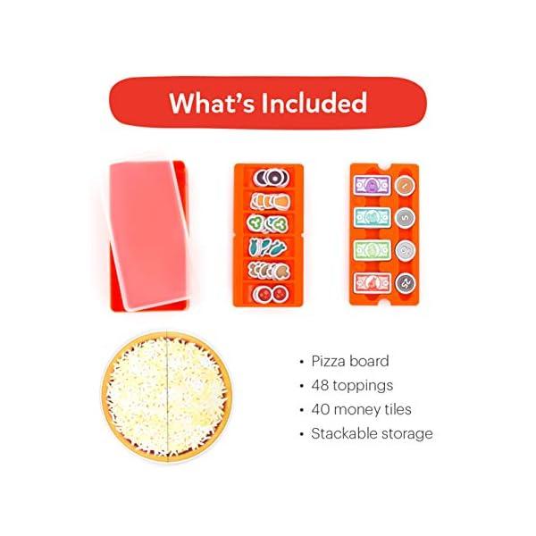 Glooke Selected OSMO Pizza Co. con tabellone, ingredienti, banconote, monete Giochi Interattivi Educativi 6 spesavip