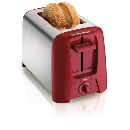 Hamilton Beach Cool Wall 2-Slice Toaster, Fits thick slices and bagels