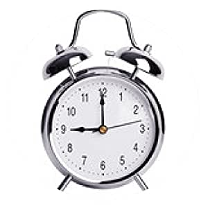 alfombrilla de ratón Nueve en punto en el reloj de alarma - ronda - 20cm