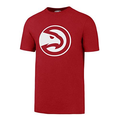 fan products of NBA Atlanta Hawks Men's OTS Rival Tee, Red, X-Large