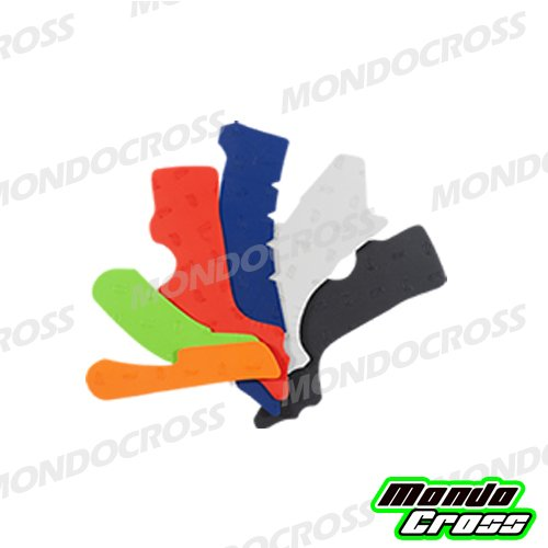 MONDOCROSS Protezione telaio Rubber Frame Pads VIBRAM Rosso HONDA CRF 250 R 14-17 CRF 450 R 13-16