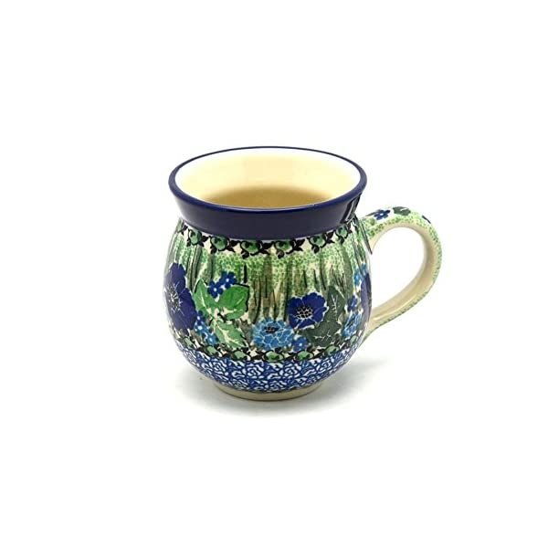 Polish Pottery Mug – 15 oz. Bubble – Unikat Signature U4629