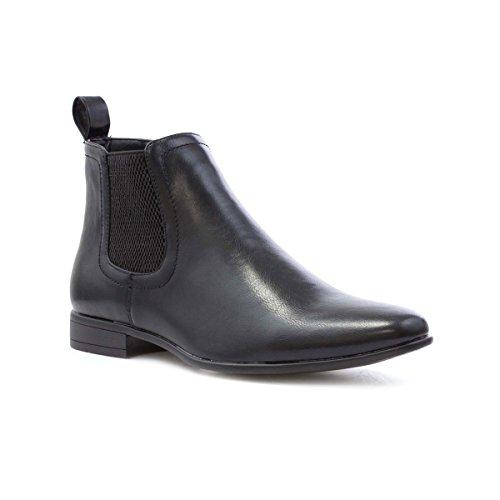 Beckett Mens Black Chelsea Boot