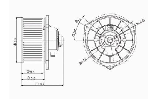 tyc-700038-mitsubishi-lancer-replacement-blower-assembly