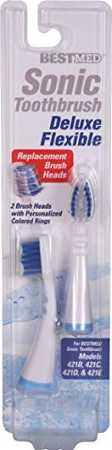 Aid Head (Generic Replacement Brush Heads for Rite Aid, CVS, Good Neighbor, Discount Drug Mart, Leader, Premier Value, Quality Choice, Preferred Pharmacy Plus, Bestmed (421B & 421G) 2-pack)