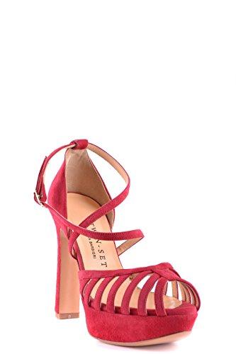 Twin-Set Sandali Donna MCBI302109O Camoscio Rosso