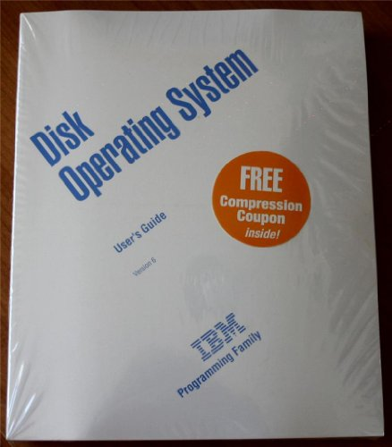 Disk Operating System User's Guide: Version 6 (IBM for sale  Delivered anywhere in USA