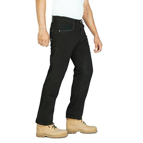 OneDayMore Aramid verstärkte Herren-Motarrad-Jeans. Kostenlose Protektoren enthalten. 8007
