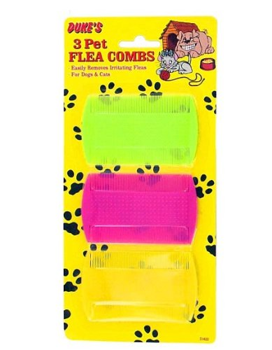 Pet flea combs (Case of 96) by Dukes (Image #1)