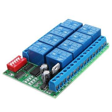 Amazon com : Module Board for Arduino Relay Module - 8 Channel 12V
