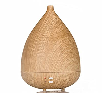 Aroma Diffuser,EIVOTOR Wood Grain Essential Oil Diffuser Humidifier-300ML Diffuser Cool Mist Humidifier Air Purifier Use with Waterless Auto Shut-off for Home, Yoga, Office, Spa