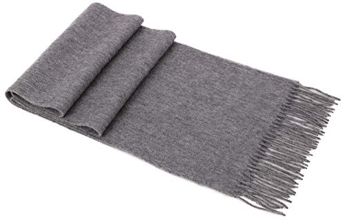 Womens Charcoal Grey Lambswool - Pashmina Scarf Shawl Warm Wool Wrap Shawl Winter Stole for Women,Charcoal Grey