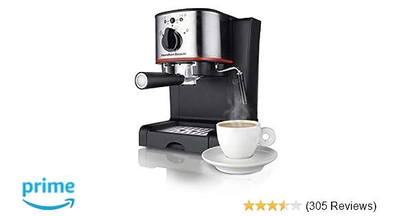 Amazon.com: Hamilton Beach 40792 Espresso Maker One Size Black: Kitchen & Dining