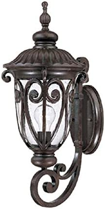 Marbleized Mahogany Acclaim 2111MM Naples Collection 1-Light Wall Mount Outdoor Light Fixture