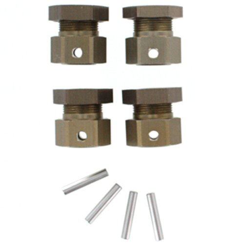 Redcat Racing Wheel Hex Set with Nuts and Pins (4 Piece)