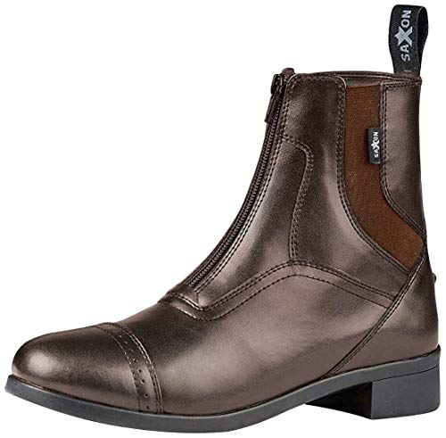 Saxon. Ladies Syntovia Zip Paddock Boots