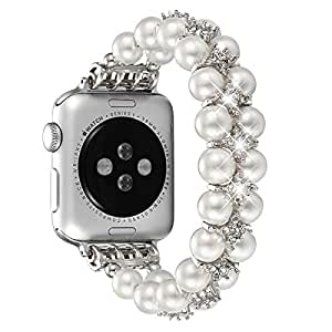 Amazon.com: Fastgo - Pulsera elástica para Apple Watch ...