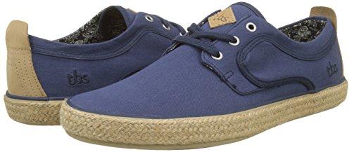 TBS Restart, Zapatos de Cordones Oxford para Hombre, Azul (Bleu 002), 41 EU