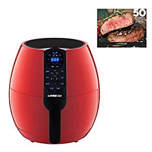 GoWISE USA 3.7-Quart Programmable Air Fryer with 8 Cook Presets, GW22639