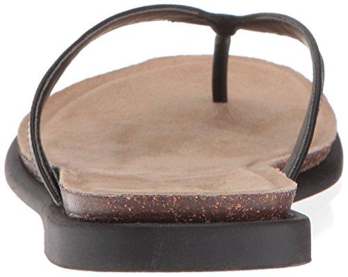 Flat Women's Sandal Black REACTION Cole Kenneth Jel Ing Thong Rq1XxZ4