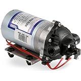 "Pentair SHURflo 8000-543-236 Automatic-Demand Diaphragm Pump, 1.8 GPM With Viton Valves, Santoprene Diaphragm, 50 PSI Demand Switch, 12V, 3/8"" NPT Female Port"