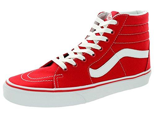 Vans-VN-0TS9GYK-SK8-HI-Canvas-Formula-One-RedWhite-Sneaker-4-DM-US-Men