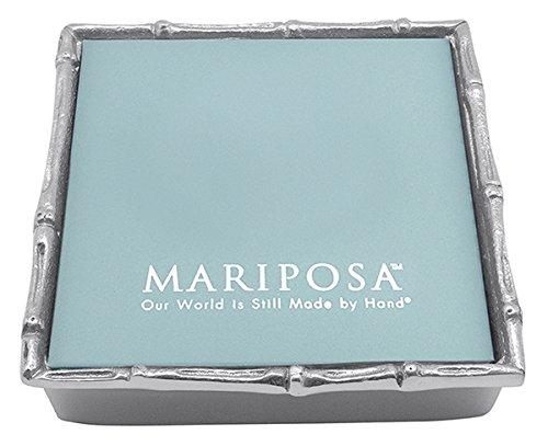 Mariposa Bamboo Napkin Box - Bamboo Mariposa