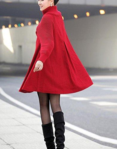 d'hiver Extra M Manteaux Long Manteau Veste Femme dwYIqEd