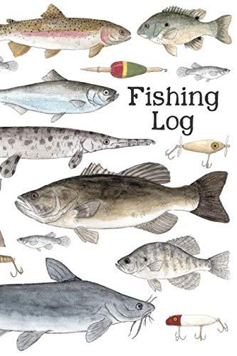 Fishing Log: A Kids Fishing Log