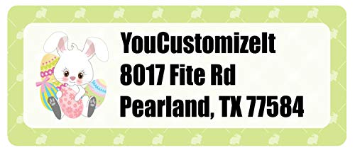 (Easter Bunny Return Address Label (Personalized))