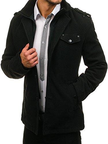 Hombre De Negro BOLF Invierno 8853 Abrigo MIX zPT8q8U
