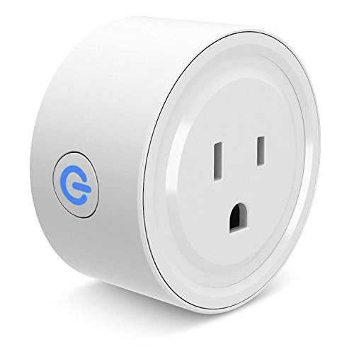 Smart Plug Wi-Fi Enabled Mini Smart Socket Compatible with Alexa Google Home, Remote Control with Timing Function For Smart Phone by Cloudy Bay