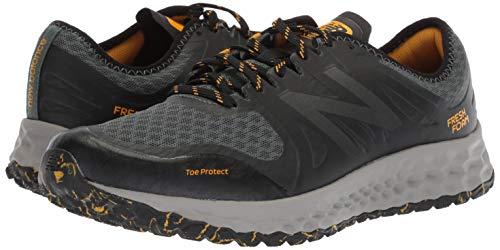 New Balance Men's Kaymin V1 Fresh Foam Trail Running Shoe Faded Rosin/Black/Brass 7 D US by New Balance (Image #6)