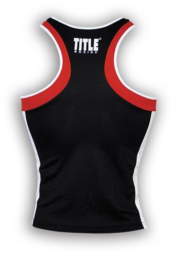 TITLE Aerovent Elite Amateur Boxing Set 4, Black/Red, Medium
