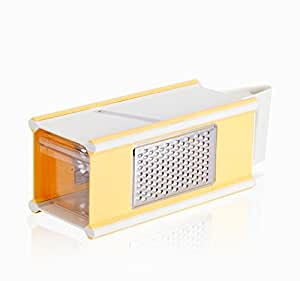 Multi Functional box 5-in-1 Vegetable Slicer Cheese Grater & Zester with Vegetable Storage Space