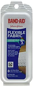 Johnson and Johnson Band-Aid Flex Fabric Travel Pack - 8 Each/pack, 24 Pack