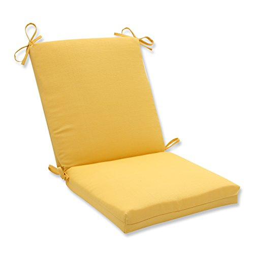 picture of Pillow Perfect Outdoor/Indoor Forsyth Soleil Squared Corners Chair Cushion