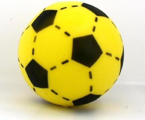 Hot Sport Toys - Pelota de fútbol blanda (20 cm), color amarillo y ...