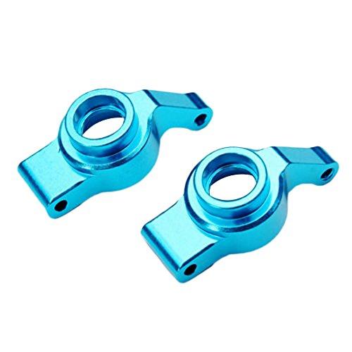 Bettal Rear Hub for Wltoys A949 A959 A969 A979 K929 RC Car, 2 Pcs, Metal, Blue